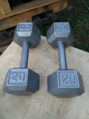 20Lb Hex Dumbbells. $30 Firm for Sale in Compton, CA