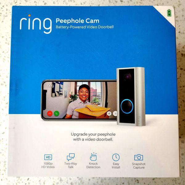 Ring Peephole Cam