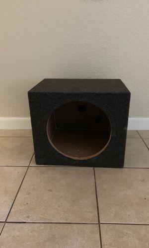 10 inch speaker box for Sale in Chico, CA