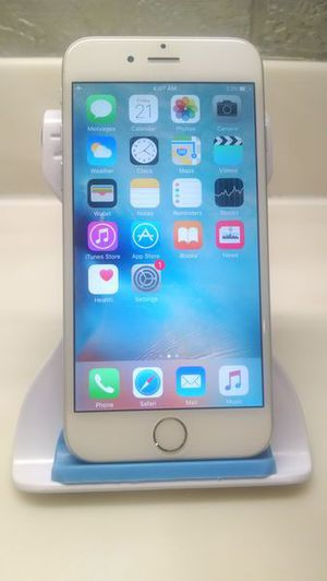 Apple iPhone 6 16gb (NOT A PLUS) Tmobile Metropcs Ultramobile Simplemobile Excellent Silver for Sale in Schererville, IN