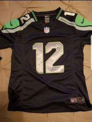 2 New youth custom Fan Seahawks jerseys for Sale in Sanger, CA