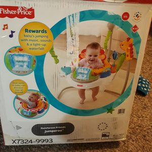 Fisher price sitting toy jumperoo for Sale in Sacramento, CA