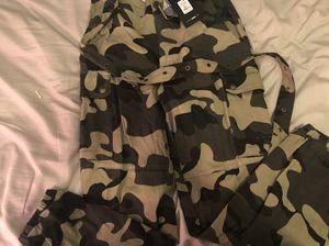 Fashion Nova camo pants for Sale in Lawrenceville, GA