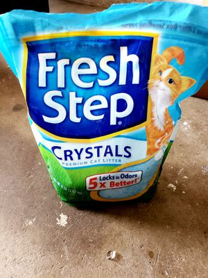 Fresh step crystals kitty litter for Sale in Lodi, CA
