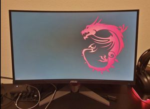 MSI Optix Mag24C 144hz Curved Screen Gaming Monitor for Sale in Carlsbad, CA