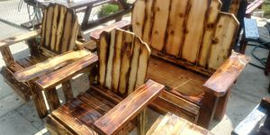 New rustic outdoor furniture set for Sale in Bakersfield, CA