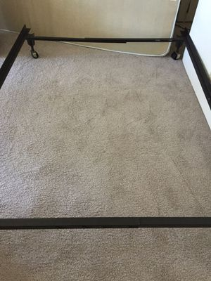 Nice full, Queen size bed frame Available for Sale in Santa Clara, CA