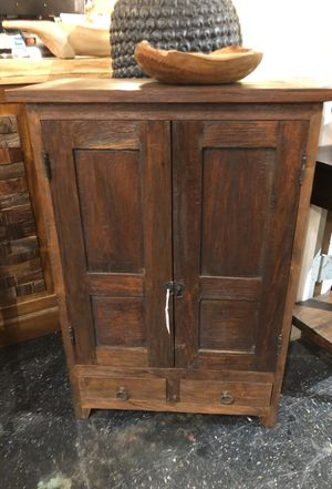 NEW reclaimed solid wood kitchen cabinet pantry for Sale in Alexandria, VA