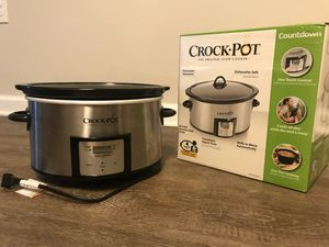 Crock Pot Slow Cooker for Sale in Wake Forest, NC