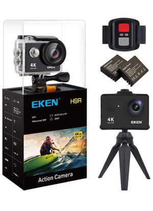 (silvery)Action Camera 4K WiFi Waterproof Sports Camera Full HD 4K30 2.7K30 1080p60 720p120 Video Camera 20MP Photo and 170 Wide Angle Lens Includes for Sale in Norco, CA