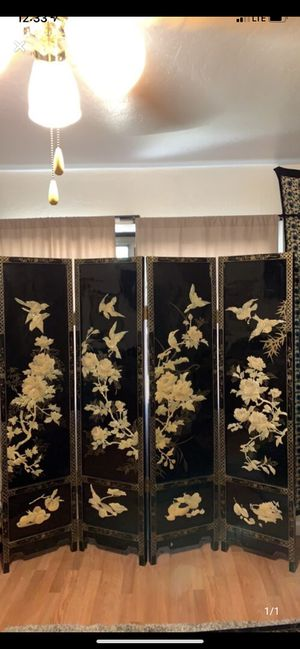 Antique 6ft mother of pearl room divider for Sale in Mesa, AZ