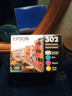 Epson 302 color ink for Sale in Seattle, WA