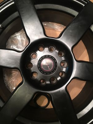 Focal Satin black rims. 17in for Sale in Jessup, MD