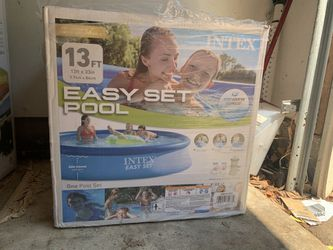"Intex 28141EH 13ft x 33"" Easy Set Inflatable Swimming Pool w/ 530 GPH Filter Pump for Sale in Manassas,  VA"