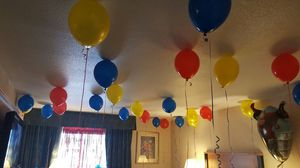 100 filled latex balloons for Sale in Groveport, OH