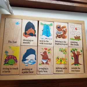 Wooden Story Puzzle for Sale in Saint Paul, MN