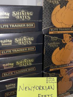 Shining Fates Elite Trainer Box for Sale in Queens,  NY