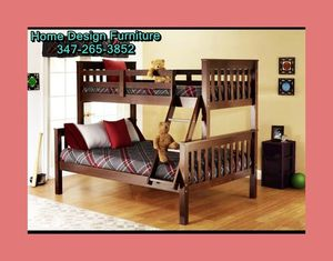 wooden twin / full bunkbed for Sale in Queens, NY
