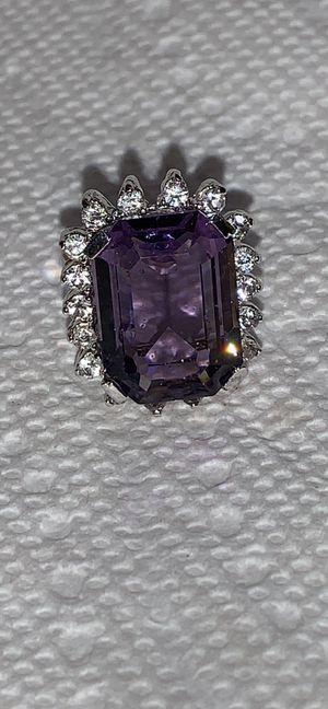 Costume ring purple glass for Sale in Salt Lake City, UT