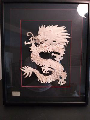 Eisner original Dragon paper mache for Sale in Portland, OR