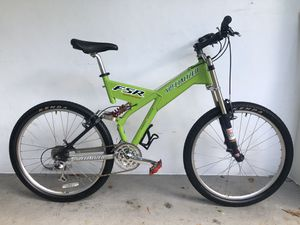1998 Specialized Ground Control FSR Extreme Full Suspension Mountain Bike for Sale in Fort Lauderdale, FL