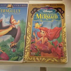 VHS Disney Movies, 12pcs in original Box for Sale in Fort Lauderdale, FL