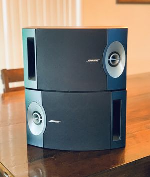 Pair of Bose 201 Series V Direct Reflecting Bookshelf Home Theater Speakers for Sale in Phoenix, AZ