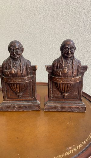 Mr. Pickwick bookends SyrocoWood for Sale in Menifee, CA