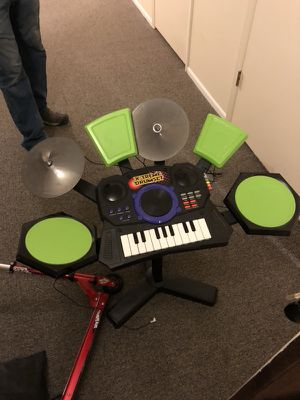 Drum piano set for fun or child. Barley used. for Sale in Salt Lake City, UT