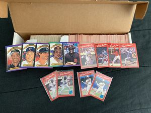1989 1990 Donruss Set GREAT condition 500+ cards Clemens Maddux McGuire for Sale in Severn, MD