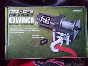 Badland winches 25,00LB for Sale in Troutdale, OR