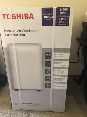NEW IN BOX Toshiba 10,000BTU Portable Air Conditoner for Sale in Wichita, KS