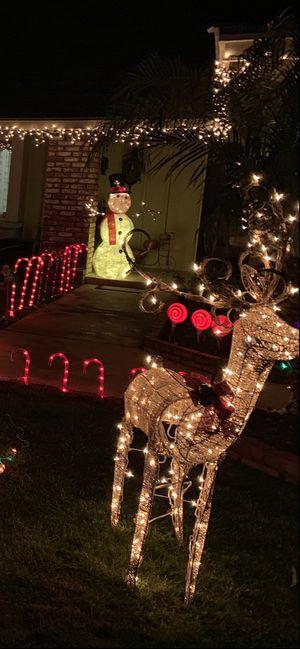 Christmas reendeer for Sale in Ontario, CA