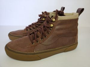 Vans SK8-HI (MTE)BROWN/HERRINGBONE VN-000XH4I29 MEN'S Size 7.5, Womens 9 for Sale in Los Angeles, CA