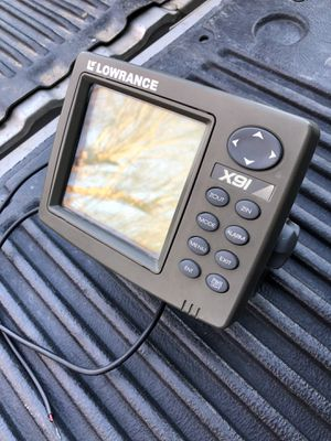 Lowrance x91 fish finder for Sale in Orosi, CA