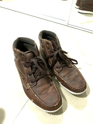 Men's shoes high top brown size 10 for Sale in Kissimmee, FL