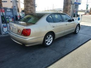 2002 Lexus GS300 run excellent has ice cold AC up-to-date tags and smog no mechanical issues 120 K on the miles very reliable for Sale in North Las Vegas, NV