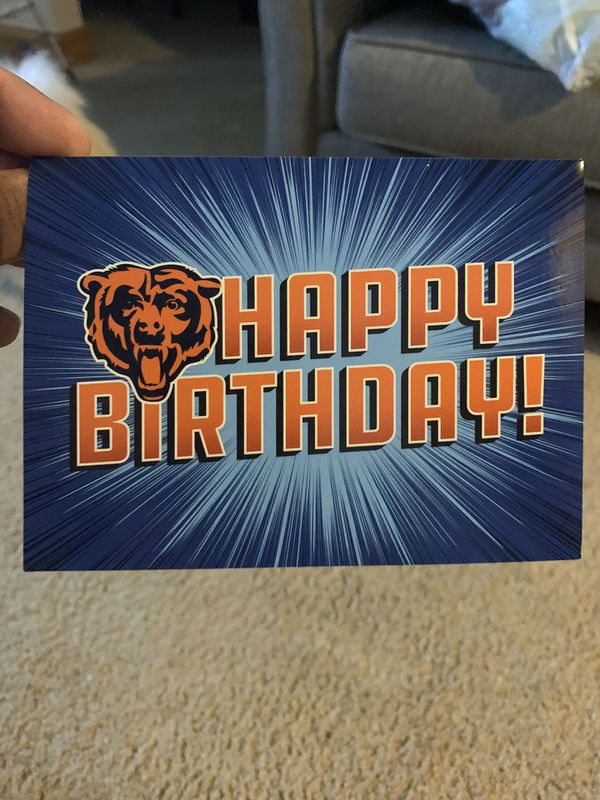 CHICAGO BEARS TICKETS!!!