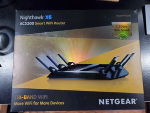 Netgear Nighthawk X6 Tri-Band WiFi AC3200 Router for Sale in Newhall, CA