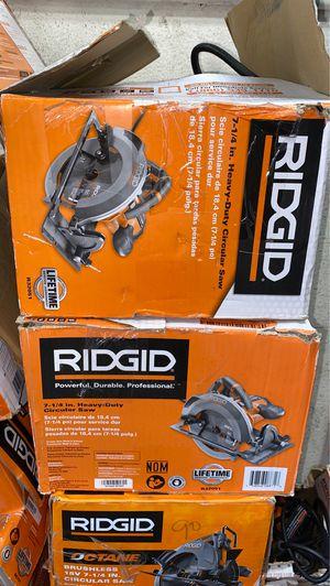 RIDGID 15 Amp 7-1/4 in. Circular Saw for Sale in Garden Grove, CA