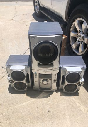 Stereo system dual cassette for Sale in San Diego, CA
