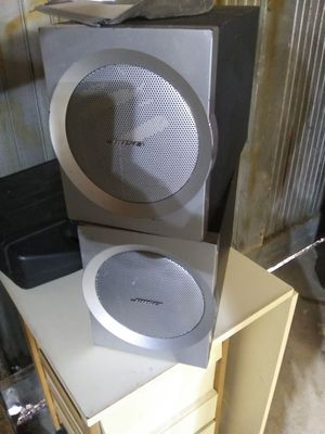 Bose subs companion 3 both for 60 obo for Sale in Lakewood, CO