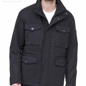 Tommy Hilfiger Hooded Utility Field Coat Size S New with tags for Sale in Rock Cave, WV