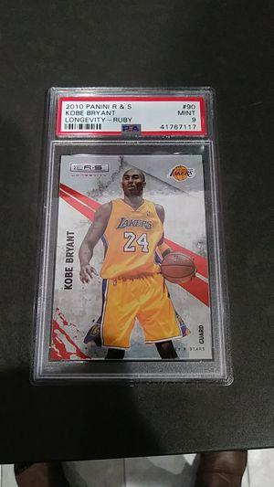 2010 Kobe Bryant longevity ruby mint#9 for Sale in Montebello, CA