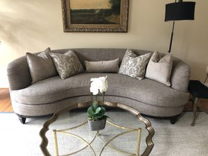 "Blair Fawn 101"" kidney Sofa for Sale in Severn, MD"