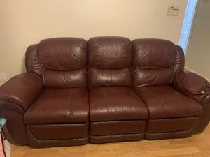 Leather couches for Sale in El Mirage, AZ