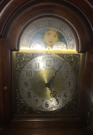 Grandfather clock emperor model with West German Model for Sale in Rockville, MD