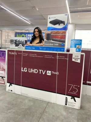 💎🌐Brand new Samsung or lG 75'' 85''' TV Down $39 for Sale in Houston, TX
