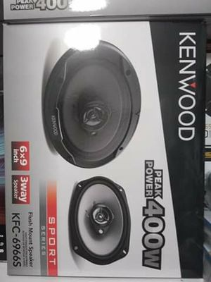 Kenwood 6x9 s one pair brand new in the box for Sale in Downey, CA