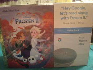 Google home mini Frozen 2 bundle for Sale in Haskell, OK